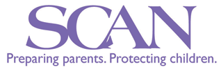 SCAN (Stop Childhood Abuse and Neglect) Logo