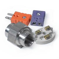 Thermocouple Jack, Plug, Terminal Block and Fitting - Featured Accessories by Pyromation
