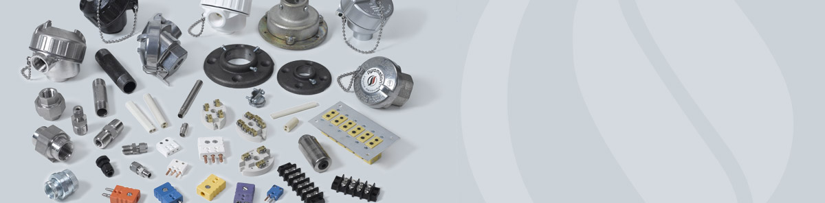 Accessories for RTDs, Temperature Sensors, Thermowells and Thermocouples - Manufactured by Pyromation