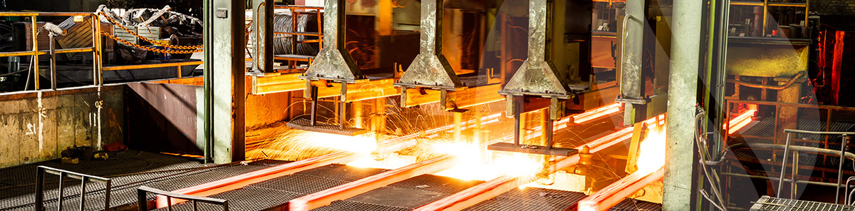 Metal Processing Plant - example application of thermocouples for heat treating